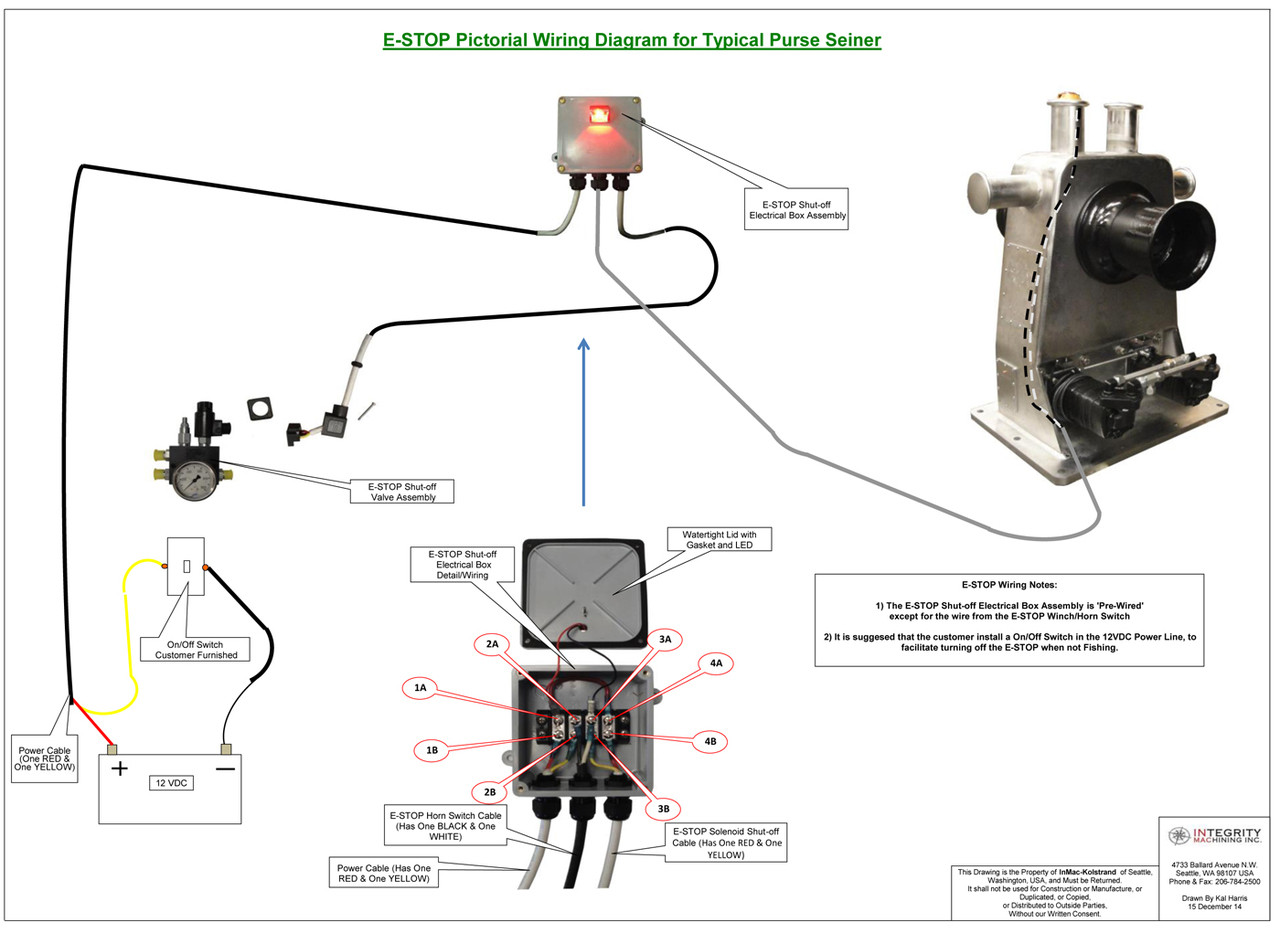 E Stop Switch Wiring Diagram | Wiring Library