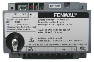 Fenwal Ignition Module Part #35605500001