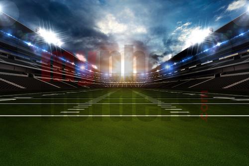 Digital Sports Background Football Stadium II