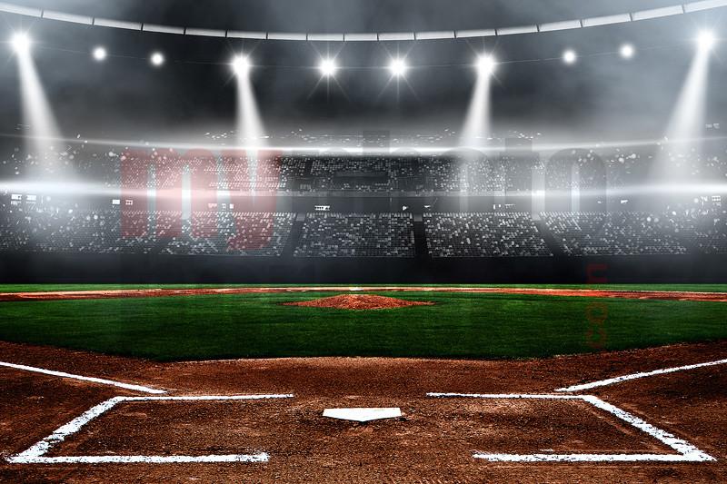 Digital Sports Background Baseball Stadium
