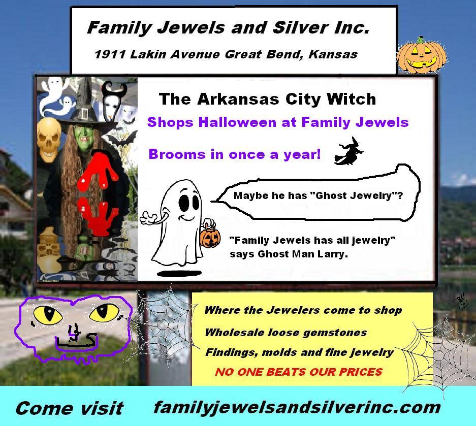 Halloween Jeweler in Great Bend, Kansas