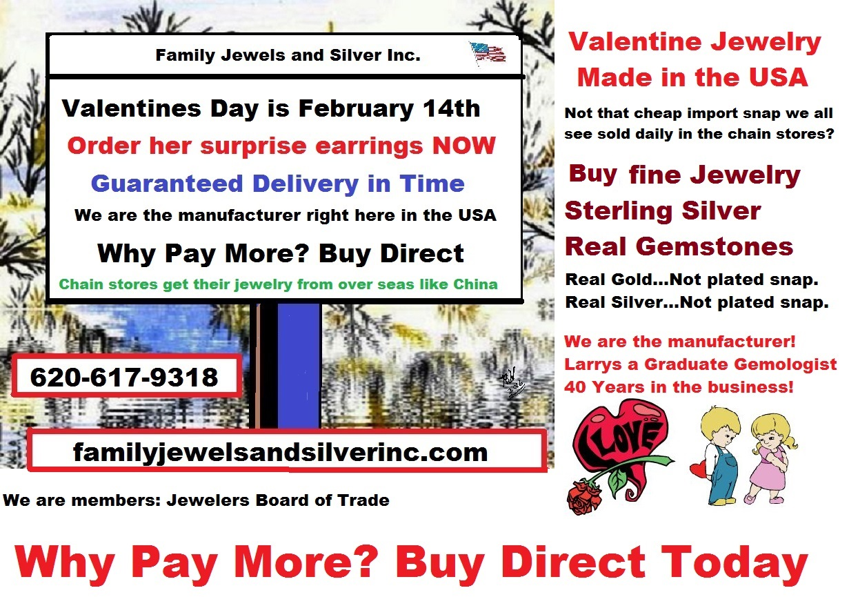Family Jewels is the Friendly Online Jeweler