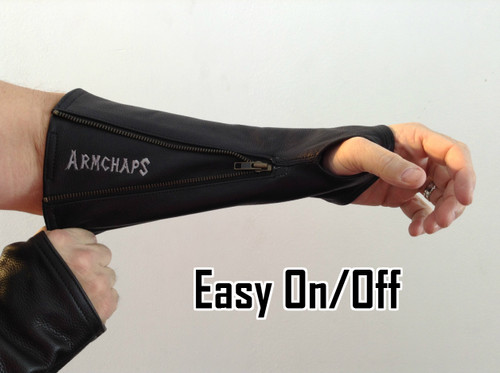 Leather Forearm Guards Protection