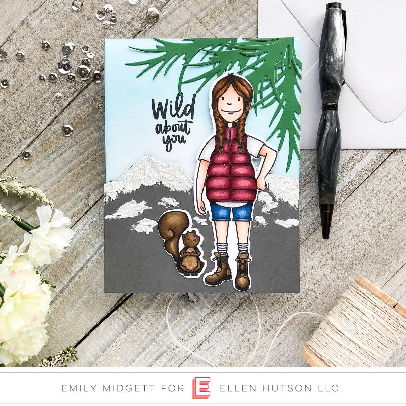 Woodsy Lady by Emily Midgett