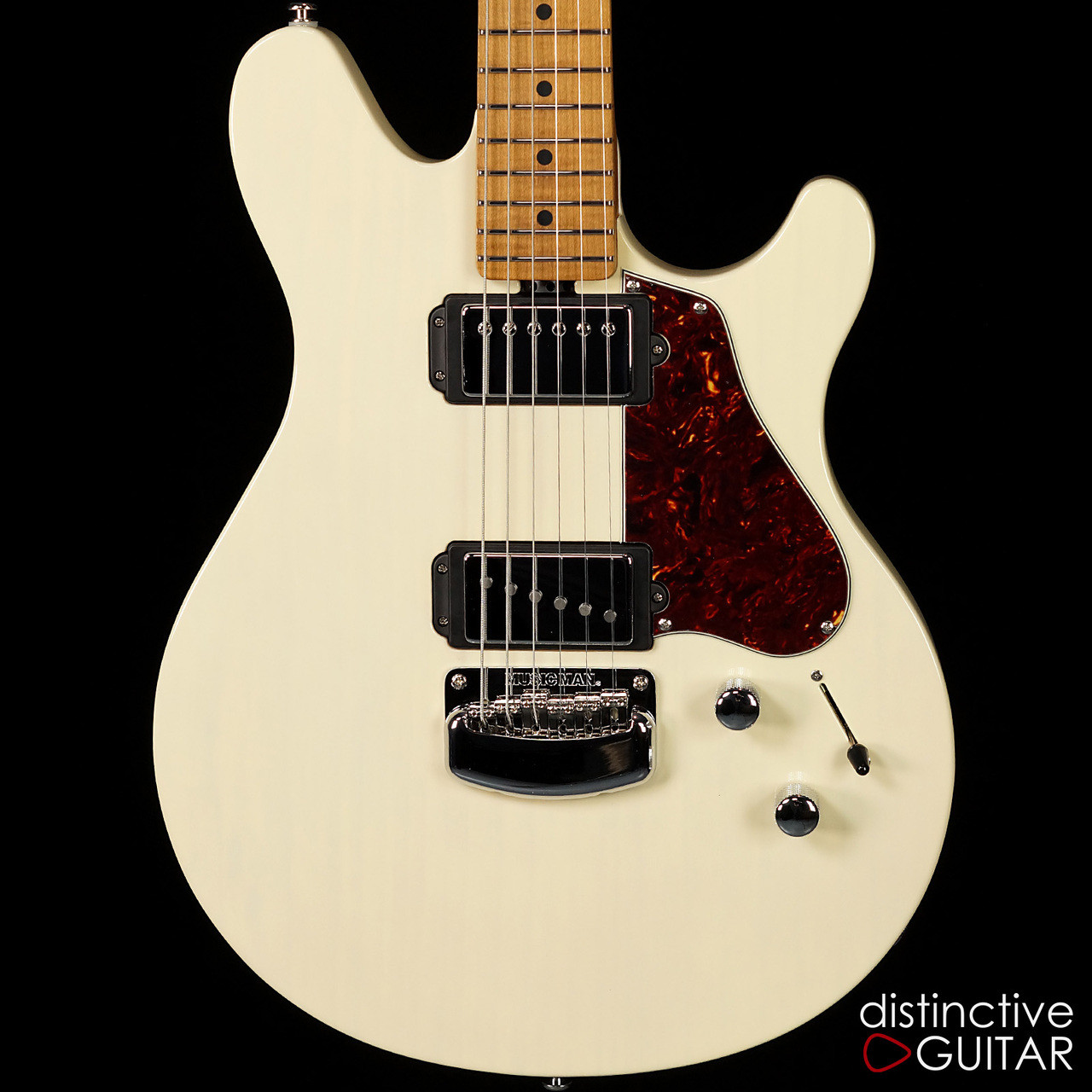 Ernie Ball Music Man Valentine Signature Trans Buttermilk