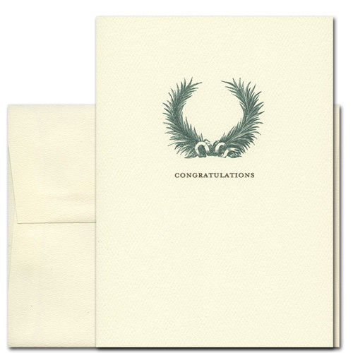 Boxed Formal Congratulations Cards For Professionals Laurel