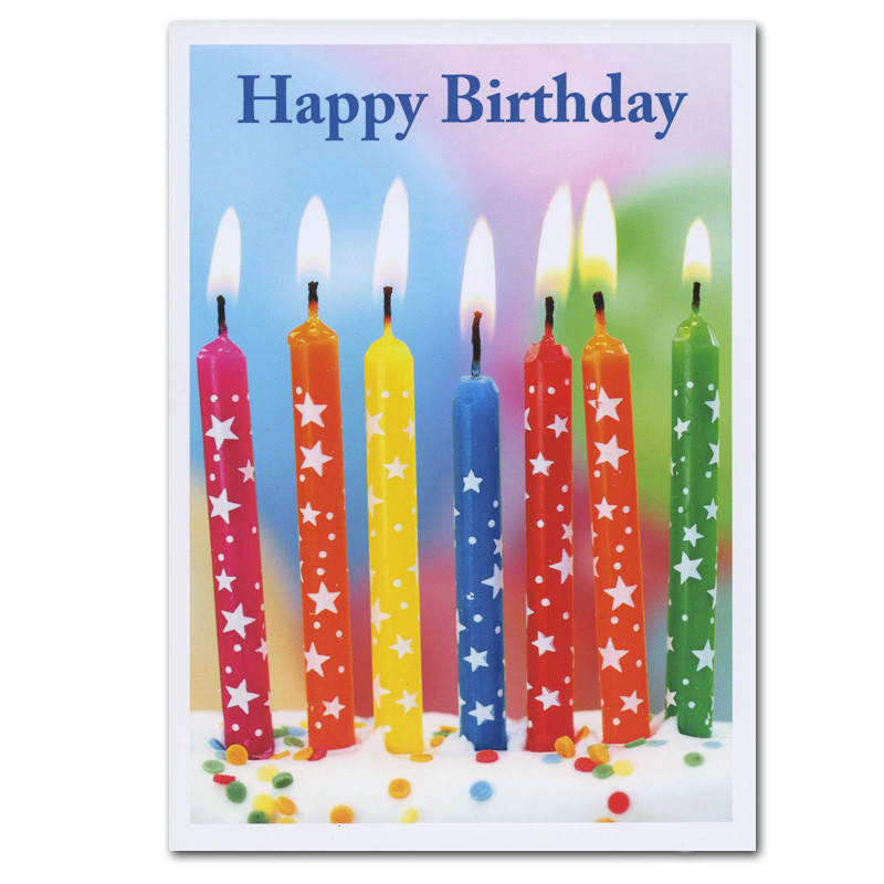 Boxed Birthday Cards Star Spangled Candles For