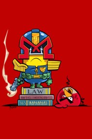 Minion Dredd - The Executor Shirts. Don't mess with him! He is loco!