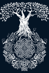 Yggdrasil Tree of Life Shirt and TShirts