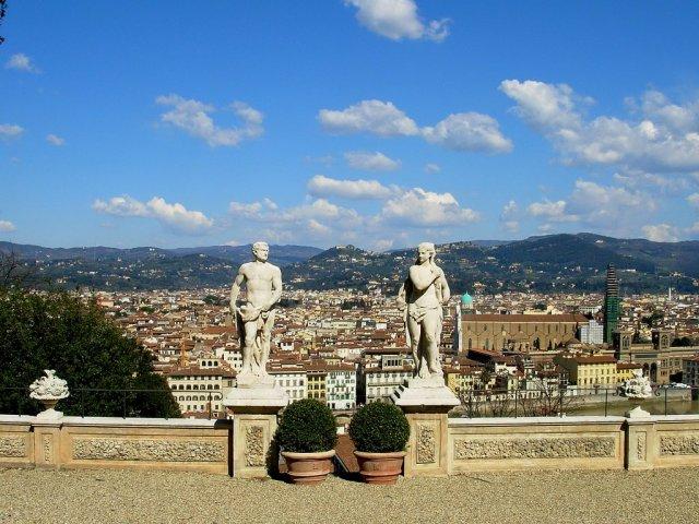 Bardini Gardens - Panoramic terrace