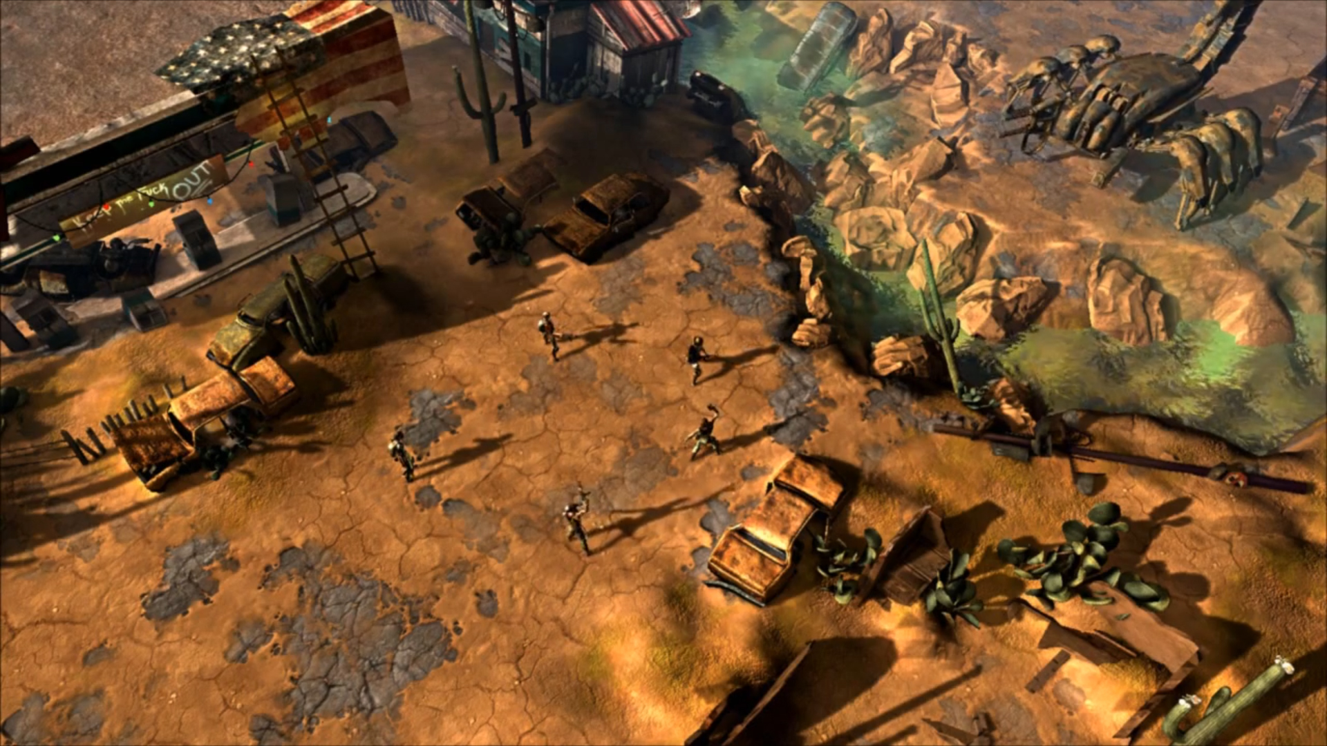 See The First In Game Footage Of Wasteland 2 From Unite 2012