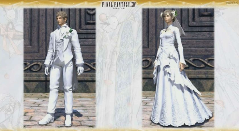 Final Fantasy Xiv A Realm Reborn Gets The Best Wedding Ceremony
