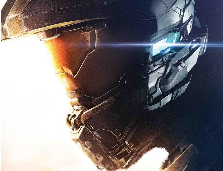 Xbox One Exclusive Halo 5 Guardians Pre Order Poster