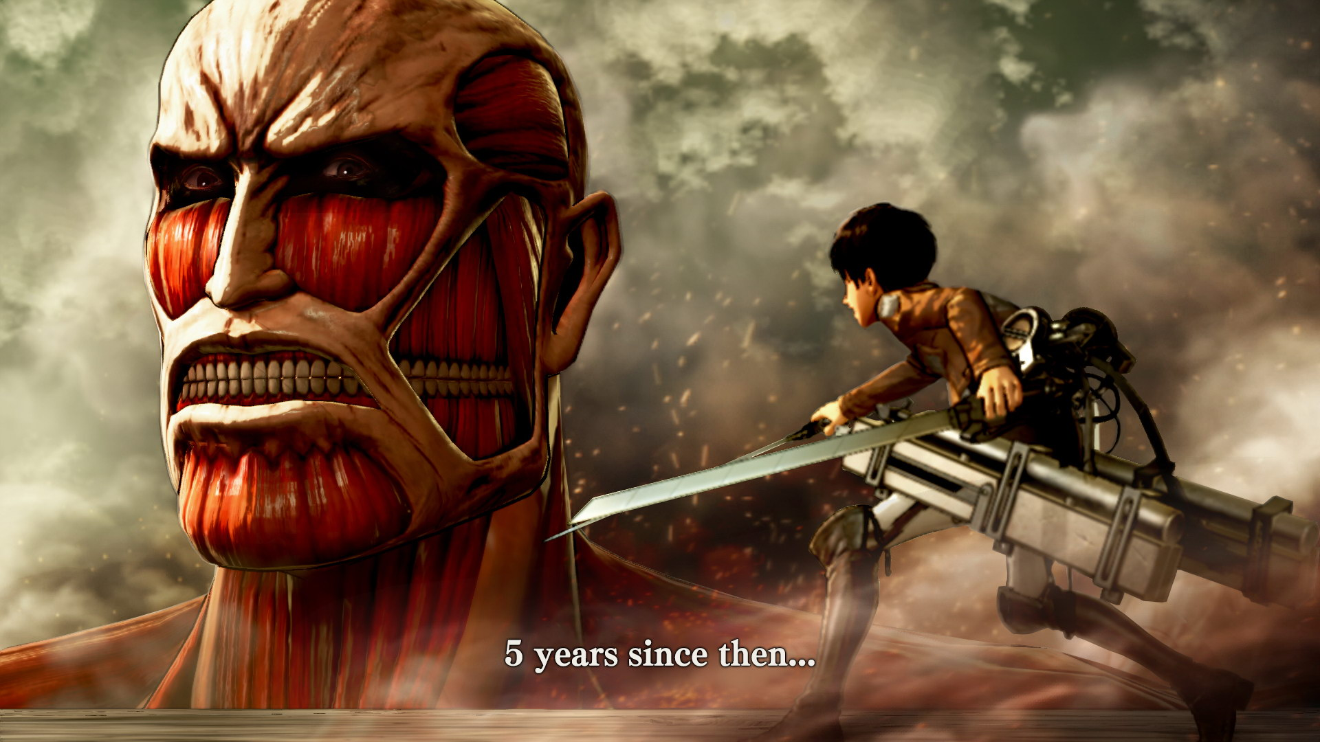 Image result for attack on titan wings of freedom 1920x1080