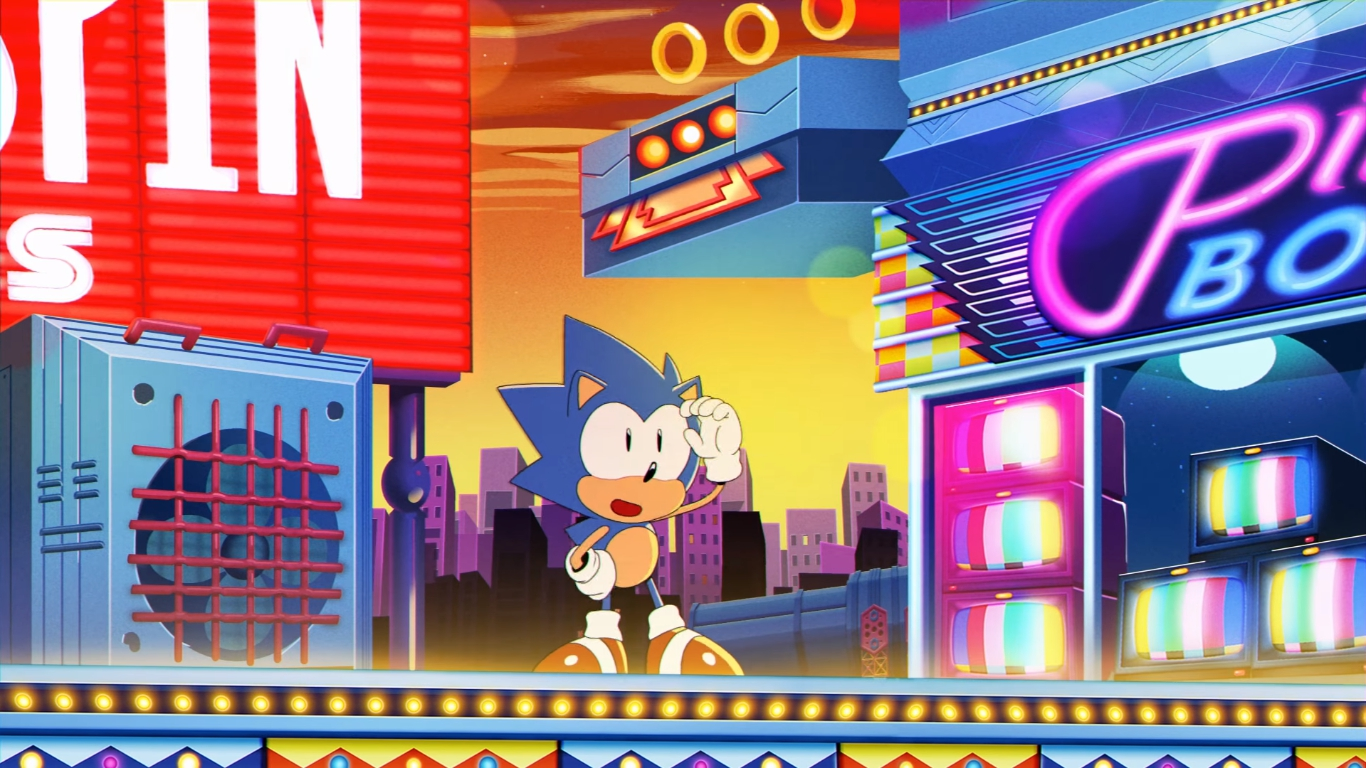 Sonic Manias Opening Animation Is Here
