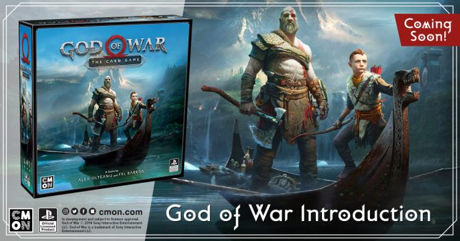God of War Card Game Will Launch Later This Year