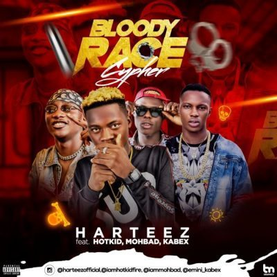 Harteez Ft. Hotkid, Mohbad & Kabex - Bloody Race Cypher