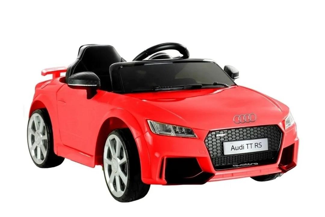 Elektrische Audi TT RS met afstandsbediening (rood)
