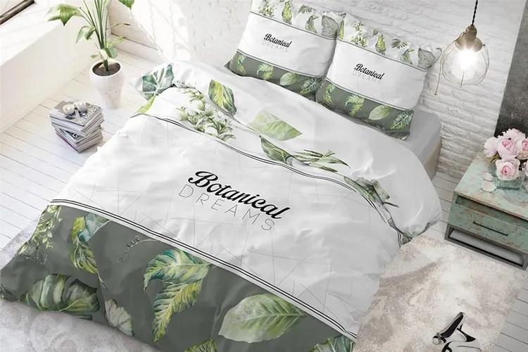 Katoenen dekbedovertrek - Botanical Dreams (240x220 cm)