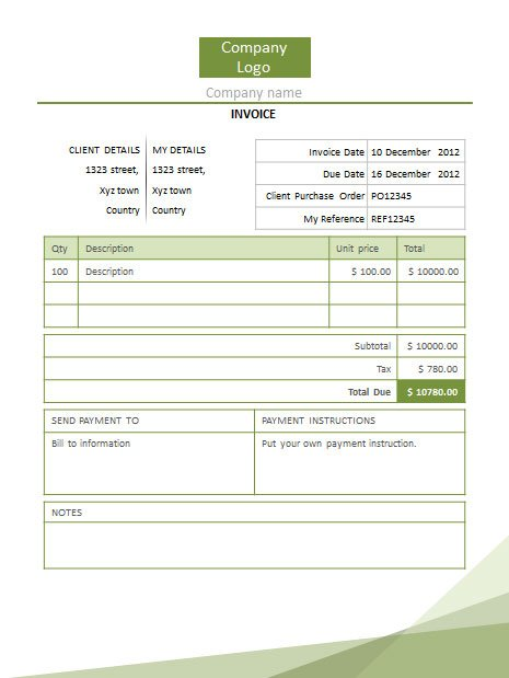invoice template libreoffice libreoffice templates libreoffice simple invoice