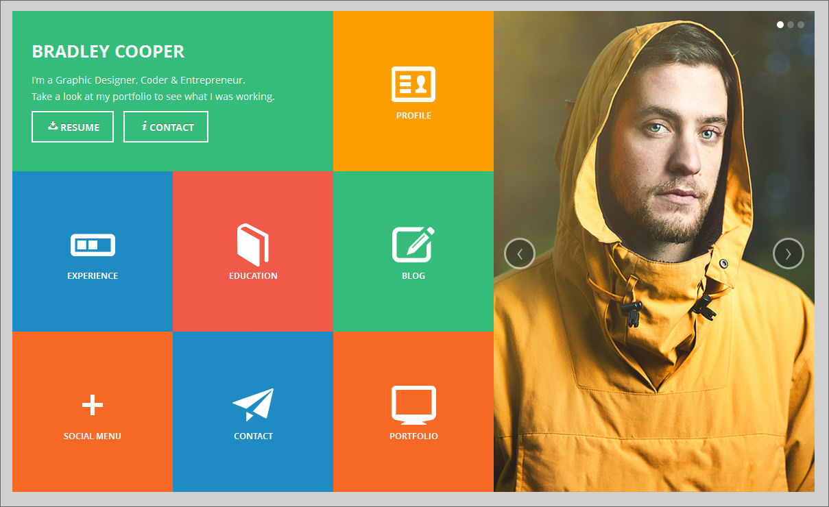 graphic design online portfolio examples this design will look great