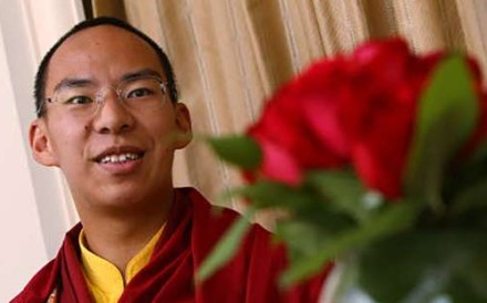 The China-appointed Panchen Lama. Photo: Handout