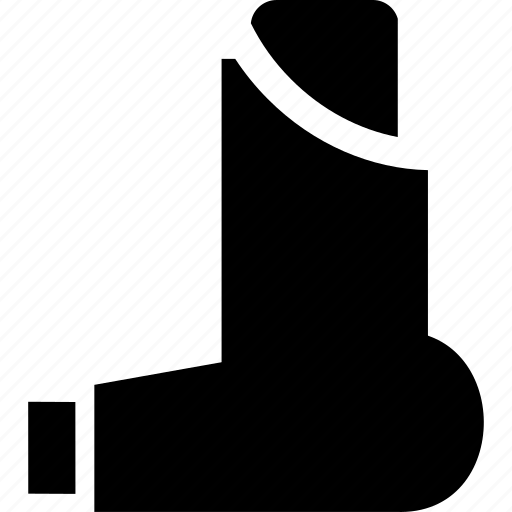Patient And Inhaler Icon