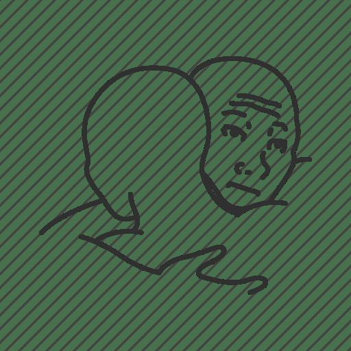 Emotion Friends Funny Hug I Feel You Bro Meme Sad Icon