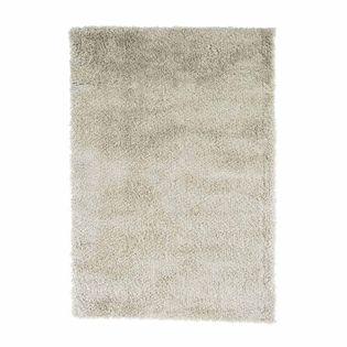 tapis shaggy blanc nuage softy