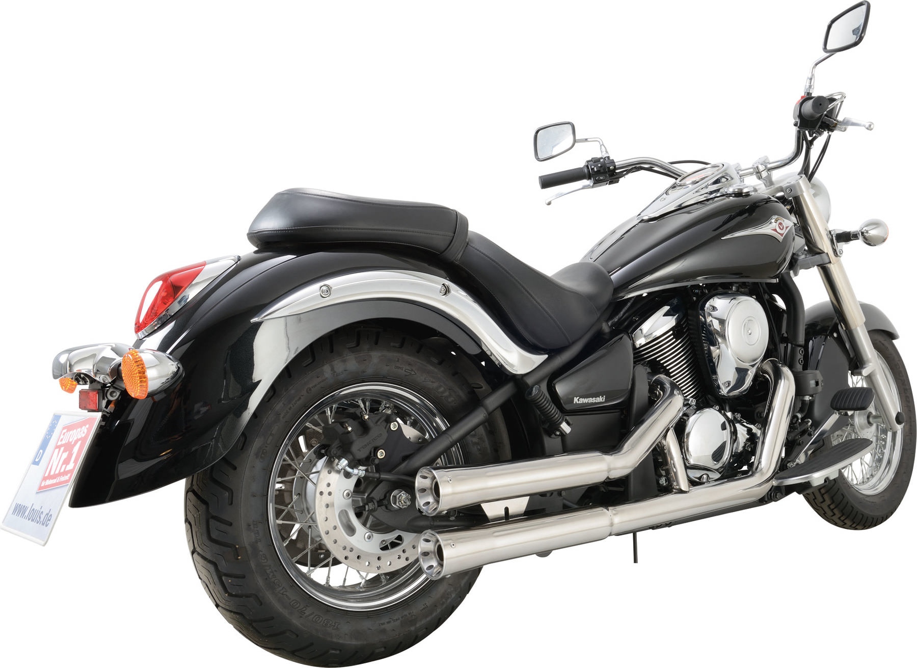 falcon double groove complete exhaust full exhaust system