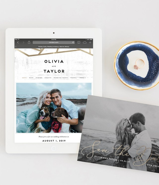 How to Build and Create a Wedding Website  Minted