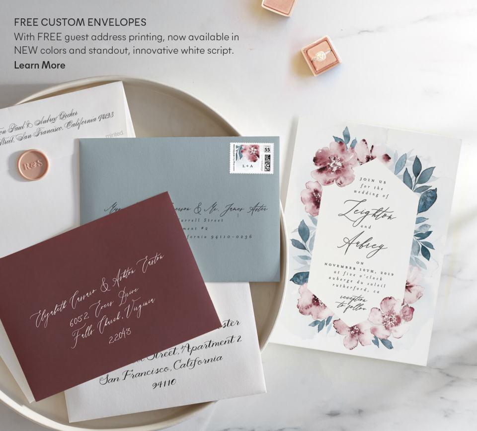 Free Custom Envelopes