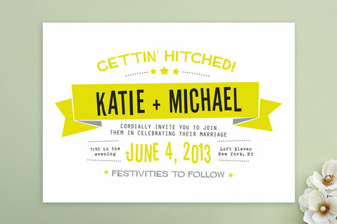 Your Fave Minted Invitation Designs Plus A 300 Giveaway Offbeat Bride