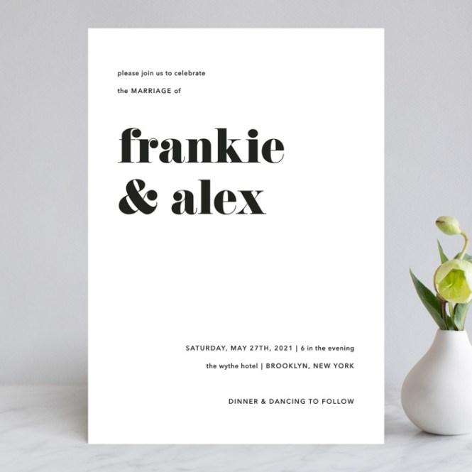Letters Customizable Wedding Invitations By Joann Jinks