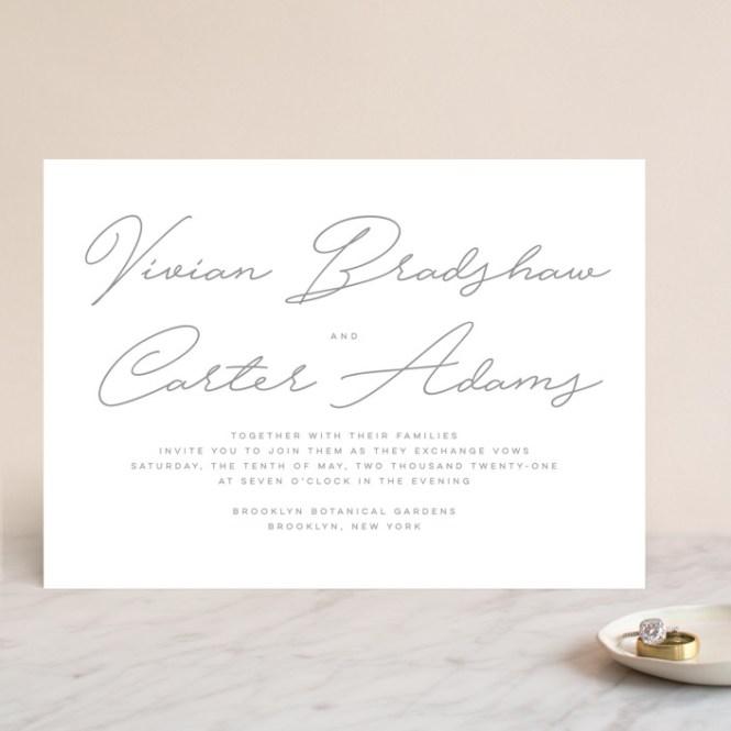 Wedding Invitations By Lauren Chism