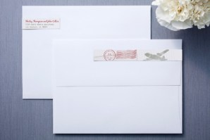 A Faraway Destination Skinnywrap™ Address Labels - Gift Guide for Stationery Lovers