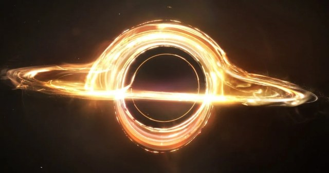 Image result for interstellar black hole