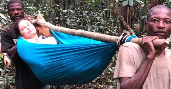Ashely Judd Injury Rescue Mission Congo Rainforest - scoailly keeda