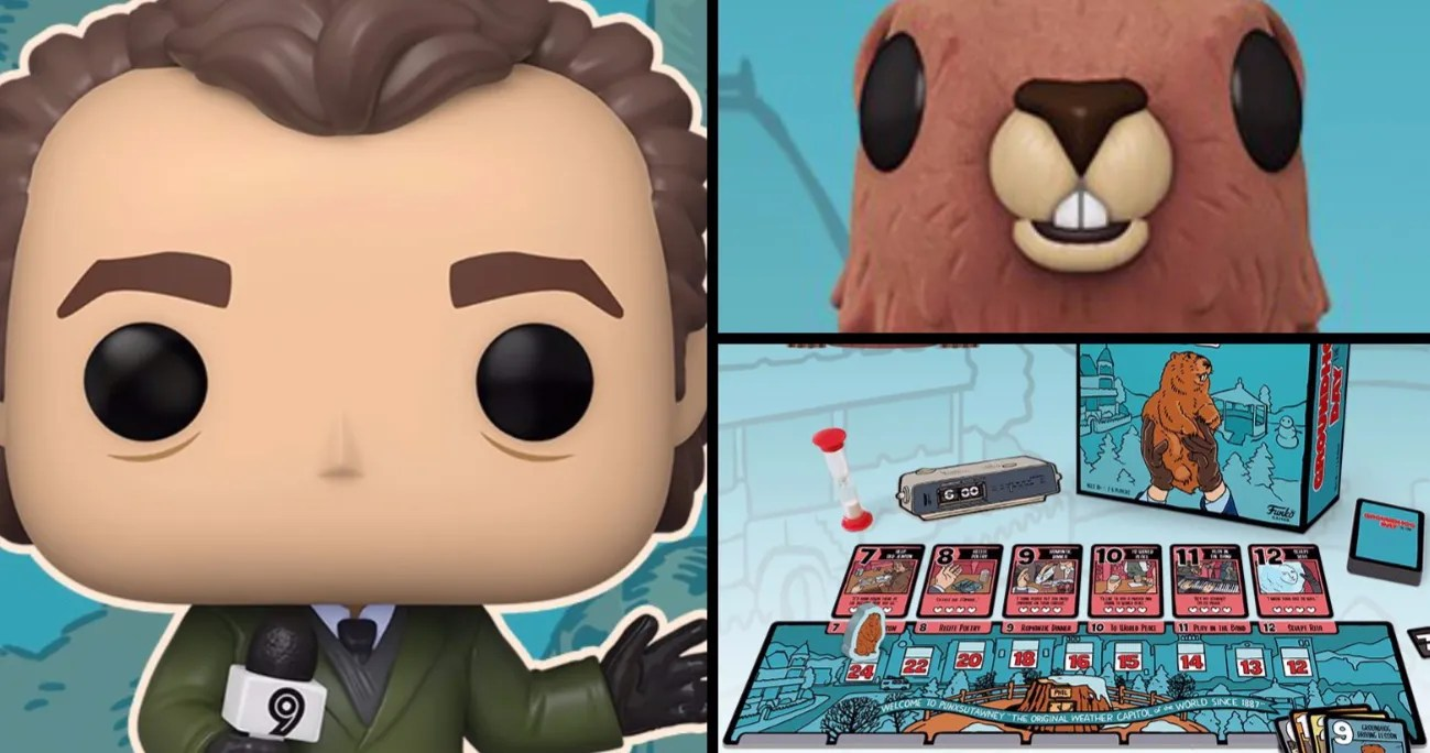 'Groundhog Day' Funko Pop! Figures & Board Game Are Coming This Winter