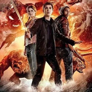 Two Percy Jackson Sea Of Monsters Cast Posters