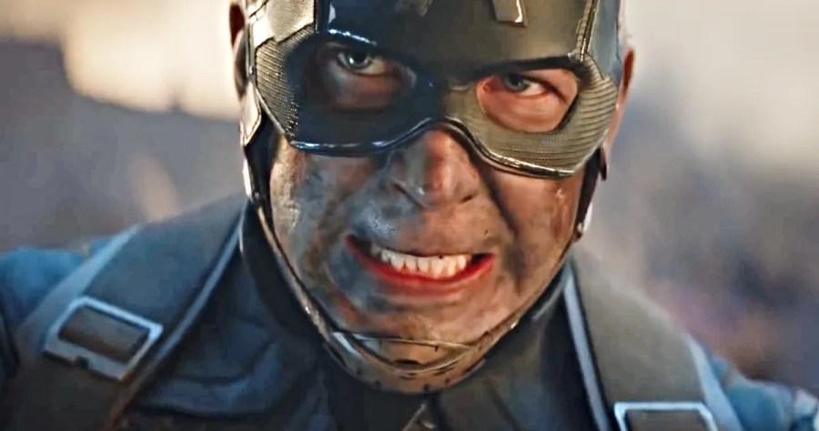 Captain America Avengers End Game
