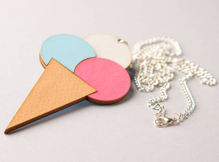 ice cream jewellery