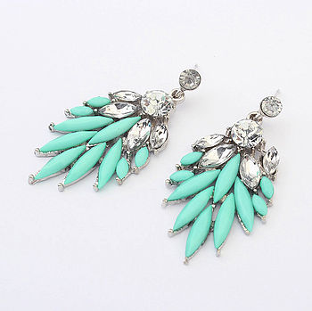 Occident Bohemian Turquoise Earrings