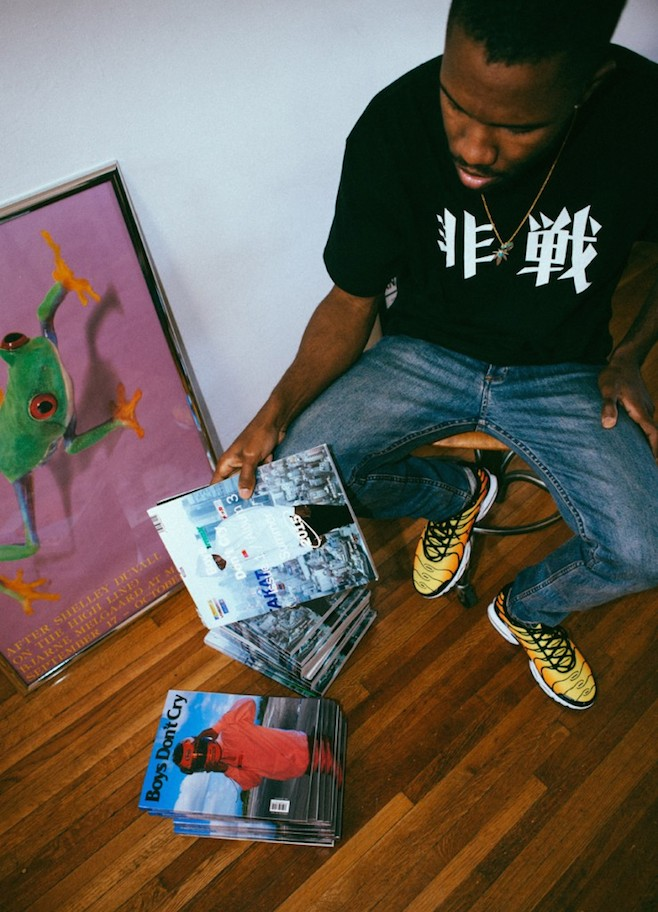 Frank Ocean Announces New Record