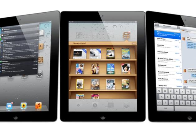 Apple iPad 2 press