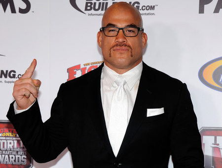 LAS VEGAS, NV - NOVEMBER 30:  Mixed martial artist Tito Ortiz arrives at the Fighters Only World Mixed Martial Arts Awards 2011 at the Palms Casino Resort November 30, 2011 in Las Vegas, Nevada.  (Photo by Ethan Miller/Getty Images)