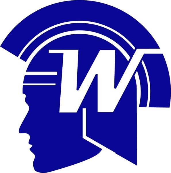 Wayzata Trojan Head Logo