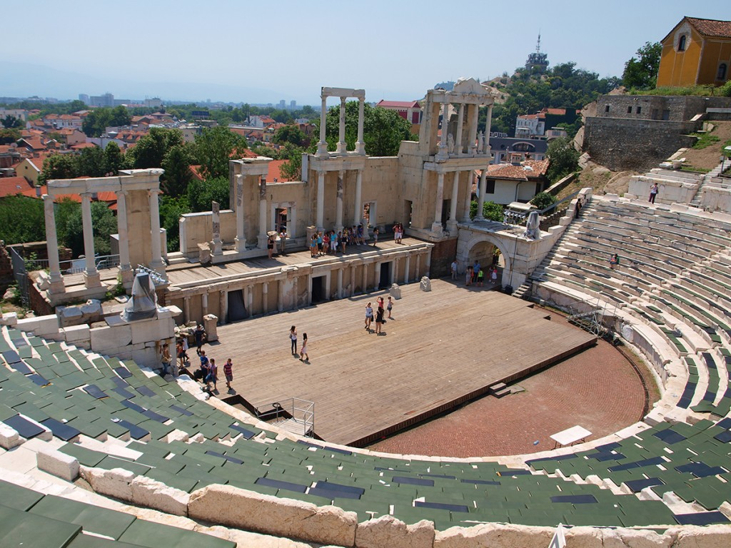 Roman theatre of plovdiv