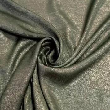 tissu microfibre vert nacre et brillant tissu microfibre vert nacre et brillant