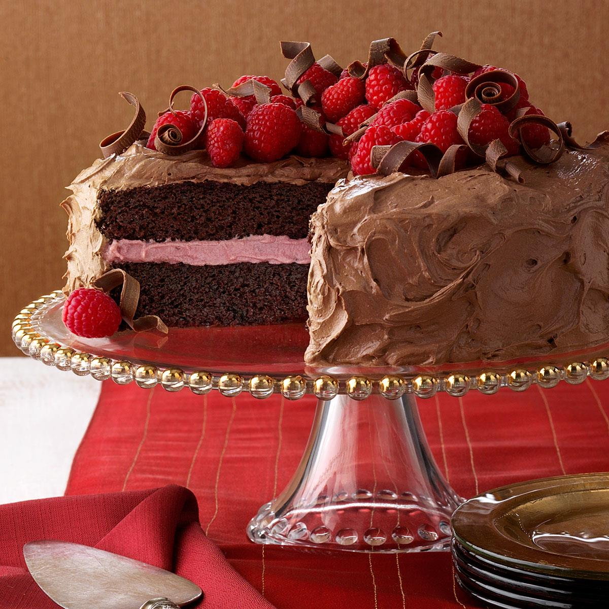 Chocolate Raspberry Cake Recipe